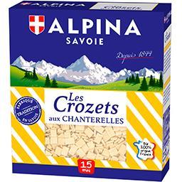 Alpina Savoie Alpina Savoie Les Crozets aux chanterelles la boite de 400 g