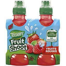 Teisseire Teisseire Fruit Shoot - Boisson à l'eau et aux fruits rouges les 4 bouteilles de 20 cl