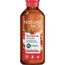 Naturé Moi Naturé Moi Shampooing Couleur Eclat groseille BIO huile pépin de raisin le tube de 250 ml