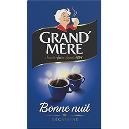 Grand'Mère Grand'Mère Café moulu Bonne Nuit décaféiné le paquet de 250 g