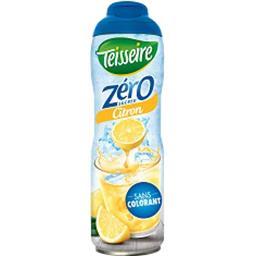 Teisseire Teisseire Zéro Sucres - Boisson parfum citron le bidon de 60 cl