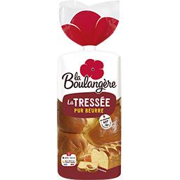 La Boulangère La Boulangère Brioche La Tressée pur beurre le paquet de 800 g