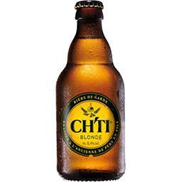 Ch'ti Ch'ti Bière de garde blonde la bouteille de 33 cl