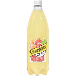 Schweppes Schweppes Zéro - Soda agrumes la bouteille de 1 l