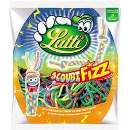 Lutti Lutti Bonbons ScoubiFizz goûts fruités le paquet de 180 g