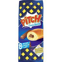 Pasquier Brioche Pasquier Pitch - Brioches Choco Barre choco lait les 8 brioches de 38,75 g