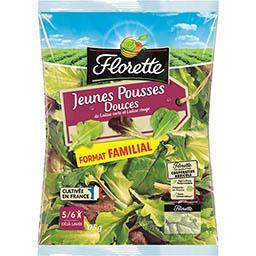 Florette Florette Jeunes Pousses Douces de laitue verte et laitue rouge le sachet de 175 g - Format familial
