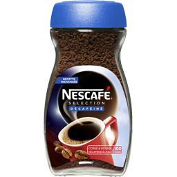 Nescafé Nescafé Café décaféiné le pot de 200 g