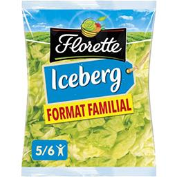 Florette Florette Laitue Iceberg le paquet de 450 g - Format Familial