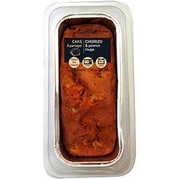 Guyader Guyader Cake au chorizo et poivron rouge la barquette de 260 g
