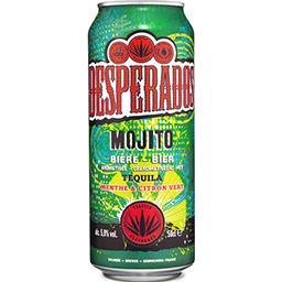 Desperados Desperados Mojito - Bière aromatisée Tequila menthe citron vert la canette de 50cl