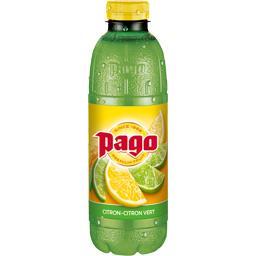 Pago Pago Boisson citron-citron vert la bouteille de 0,75 l