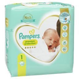 Pampers Pampers Couches New Baby taille 1 : 2-5 kg le paquet de 22 couches