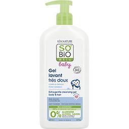 SO'BiO étic So'bio Etic Baby - Gel lavant très doux corps & cheveux le flacon de 500 ml