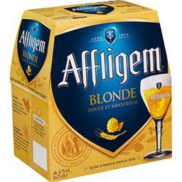 Affligem Affligem Bière blonde d'Abbaye les 6 bouteilles de 25cl