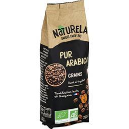 Naturela Naturela Café en grains pur arabica BIO le paquet de 250 g