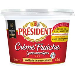 Président Président Crème fraîche gastronomique le pot de 45 cl