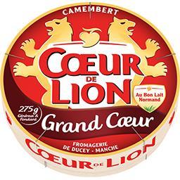 Cœur de Lion Coeur de Lion Camembert Grand Cœur la boite de 275 g