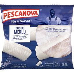 Pescanova Pescanova Dos de merlu le sachet de 4 pièces - 400g