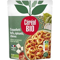 Céréal Bio Céréal Bio Cappelletti tofu & épinards BIO le sachet de 220 g