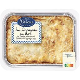 Maison Briau Maison Briau Les Lasagnes au thon la barquette de 850 g