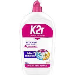 K2r K2r Détachant avant lavage action complète le flacon de 750 ml