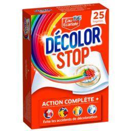Eau Ecarlate Eau Ecarlate Décolor Stop - Lingettes anti décoloration la boite de 25