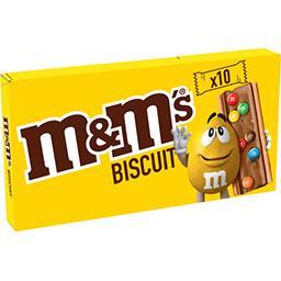M&M's M&M's Biscuits chocolat au lait et minis M&M's les 10 biscuits de 19,8 g