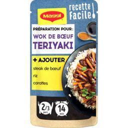 Recette facile bœuf teriyaki