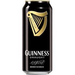 Guinness Guinness Bière brune brassée en Irlande la boite de 50 cl