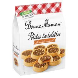Bonne Maman Bonne Maman Petites tartelettes chocolat caramel le paquet de 250 g
