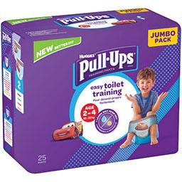 Huggies Huggies Couche culotte Pull-Ups garçon 18-23 kg le paquet de 25