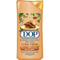 Dop Dop Le Shampooing 2en1 très doux à l'huile d'argan le flacon de 400 ml
