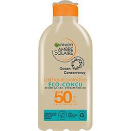 Garnier Ambre Solaire Lait haute protection Eco-Conçu FPS 50 le flacon de 200 ml