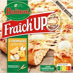 Buitoni Buitoni Fraîch'Up - Pizza 4 fromages la boite de 600 g