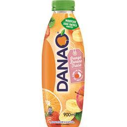 Danao Danao Boisson orange banane fraise la bouteille de 900 ml