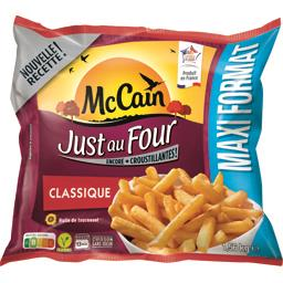 Mc Cain McCain Just au Four - Frites classique le sachet de 1,56 kg