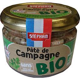 Stéphan Stéphan Pâté de campagne BIO le bocal de 180 g