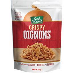 Gourmet Fresh Gourmet Crispy oignons Original le sachet de 80 g