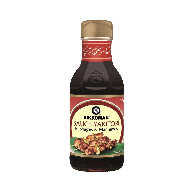 Kikkoman Kikkoman Sauce Yakitori nappages & marinades la bouteille de 250 ml