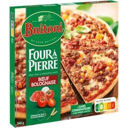 Buitoni Buitoni Four à pierre - pizza à la bolognaise le paquet de 345g