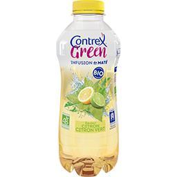 Contrex Contrex Green - Boisson infusion de maté citron citron vert BIO la bouteille de 75 cl