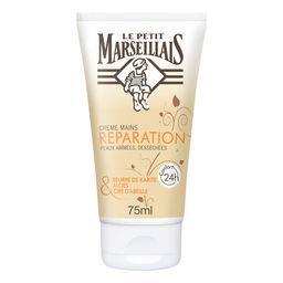 Le Petit Marseillais Le Petit Marseillais Recette Méditerranéenne - Crème mains réparatrice, peaux abîmées, desséchées le tube de 75 ml