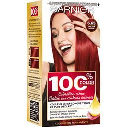 Garnier Garnier 100% Ultra Color - Coloration crème L'Ultra Rouge 6.65 la boite