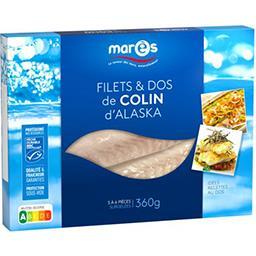 Marès Marès Filets & dos de colin d'Alaska la boite de 360 g