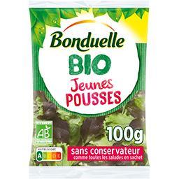 Bonduelle Bonduelle BIO - Jeunes pousses BIO le sachet de 100 g