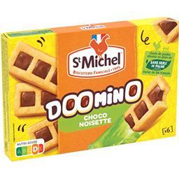 St Michel St Michel Doomino - Gâteaux chocolat noisette la boite de 6 - 180 g