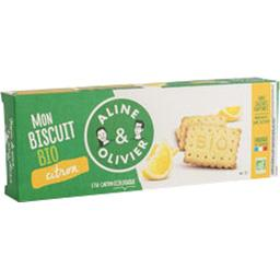 A&O Aline et olivier Biscuit BIO citron La boite de 150g