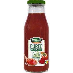 Panzani Panzani Purée de tomates zéro résidu de Pesticides le bocal de 500g