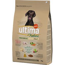 Ultima Ultima Nature - Croquettes pour chien Adult poulet légumes céréales le sac de 3 kg